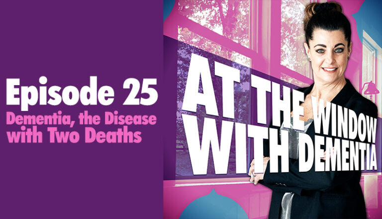 Dementia, the disease with two deaths